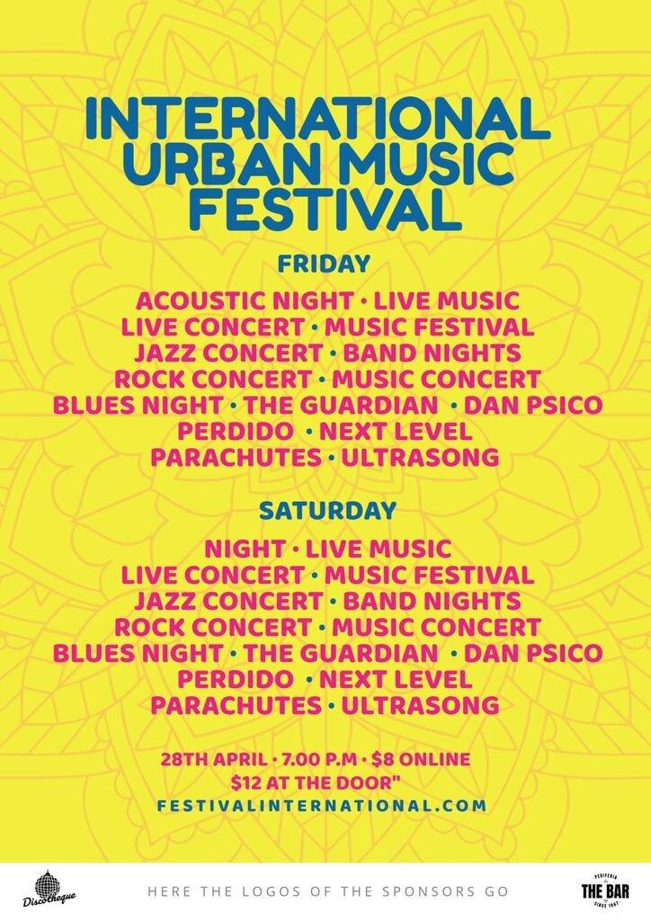 international music festival template