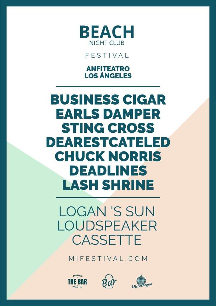 poster festival plantilla