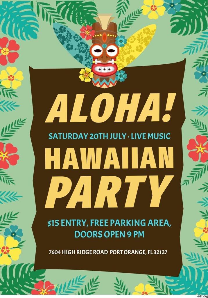 aloha beach party