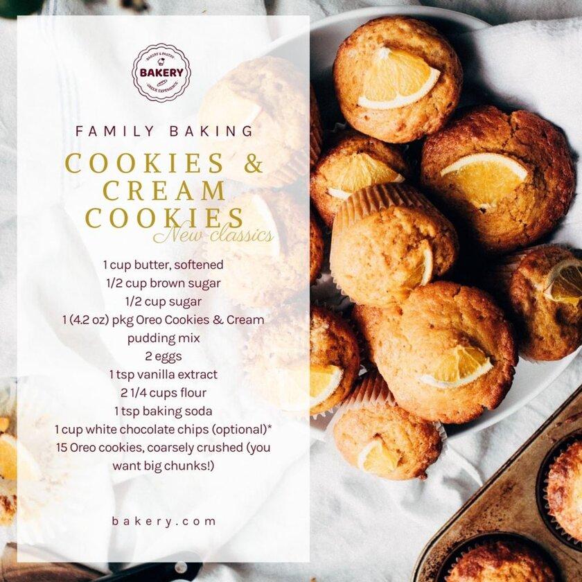 cream cookies recipe