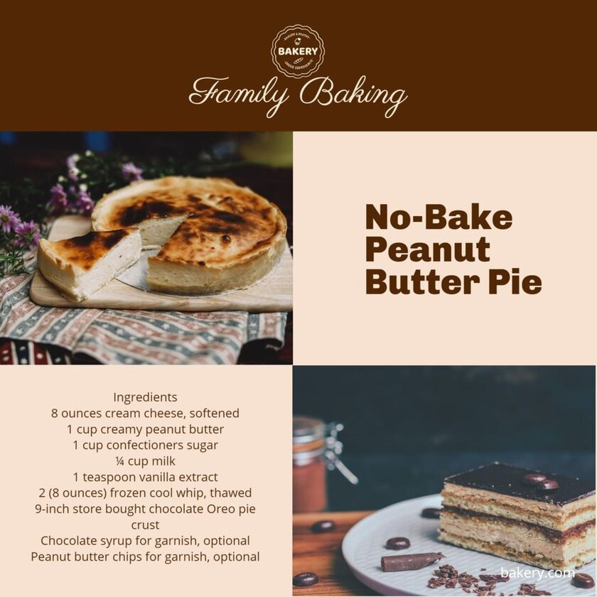 no bake butter cake