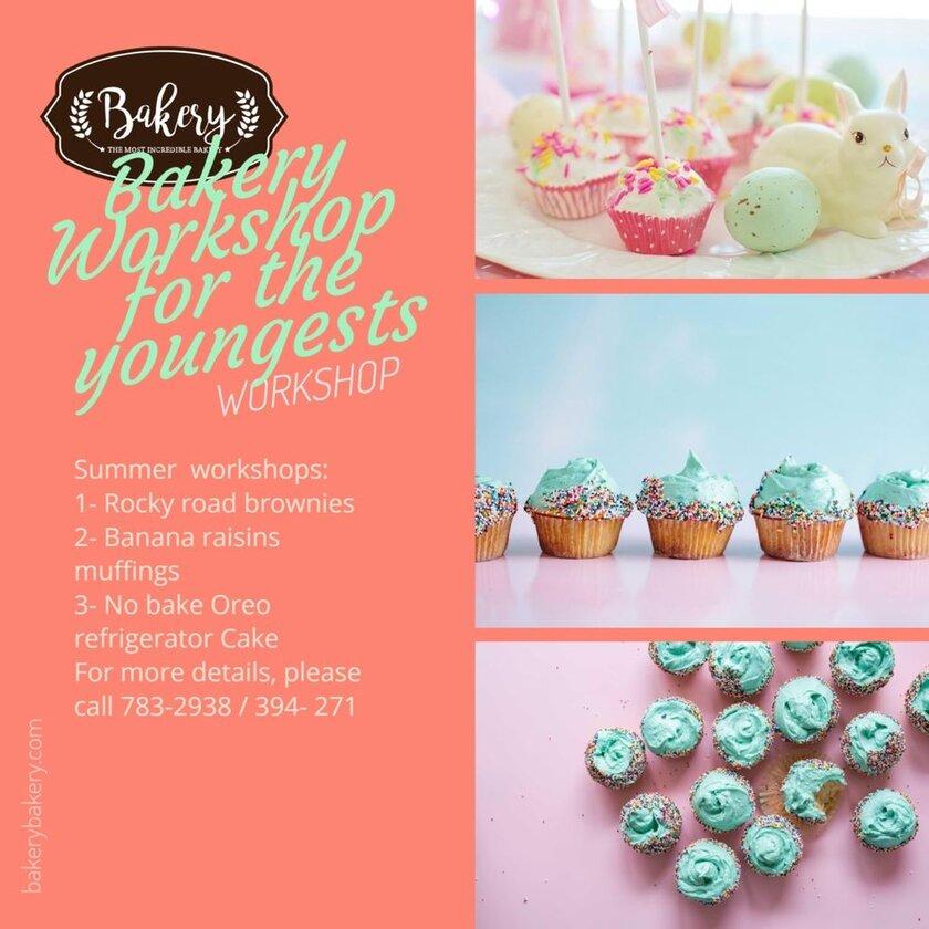 bakery workshop banner template