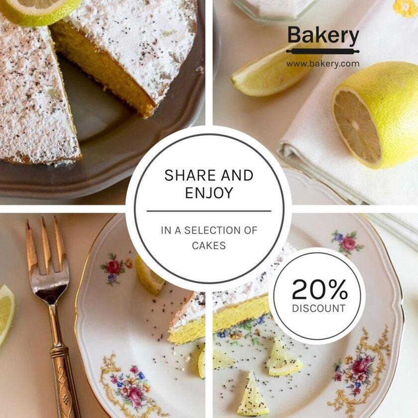 cake promos template