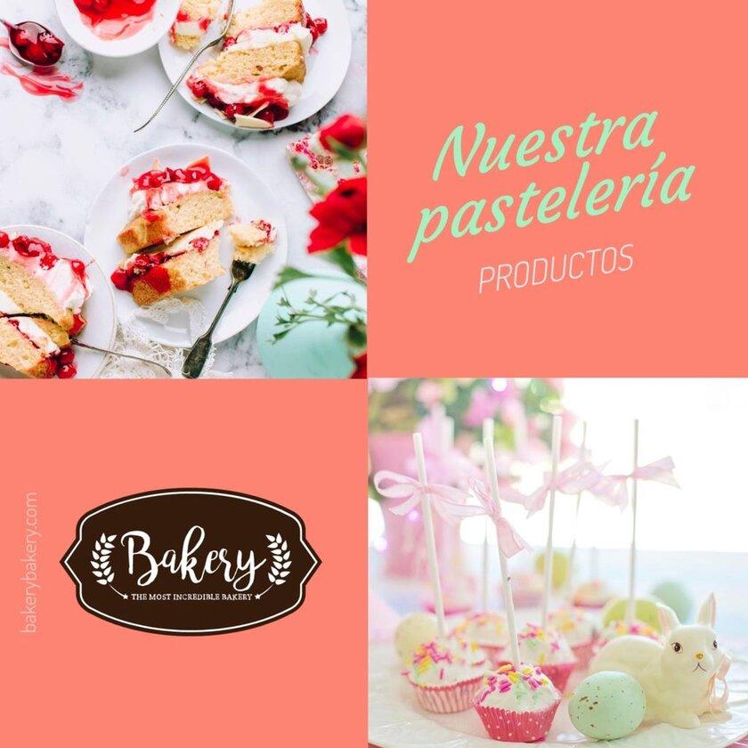 productos pastelería plantilla