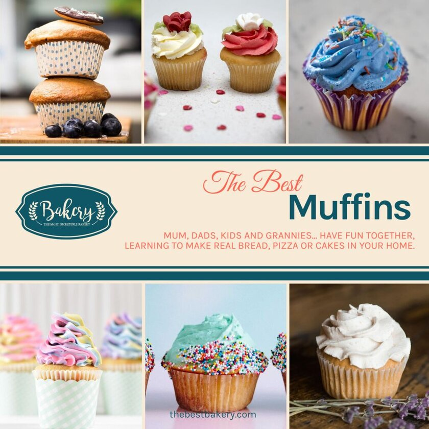 mufins banner template