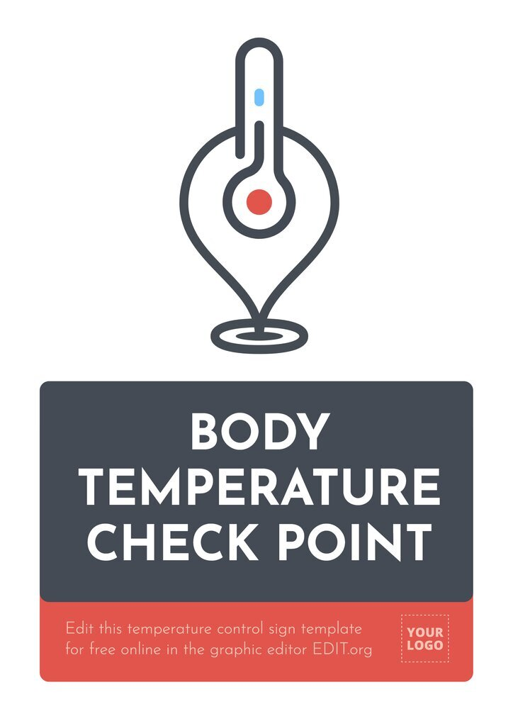 Temperature Check Point sign to edit online