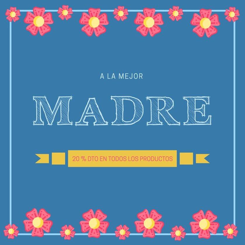 Plantilla diseño para Día de la Madre mejor Madre