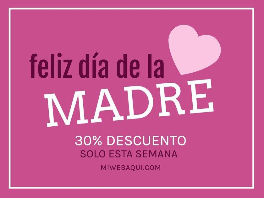 Plantilla Día Madre gratis feliz día