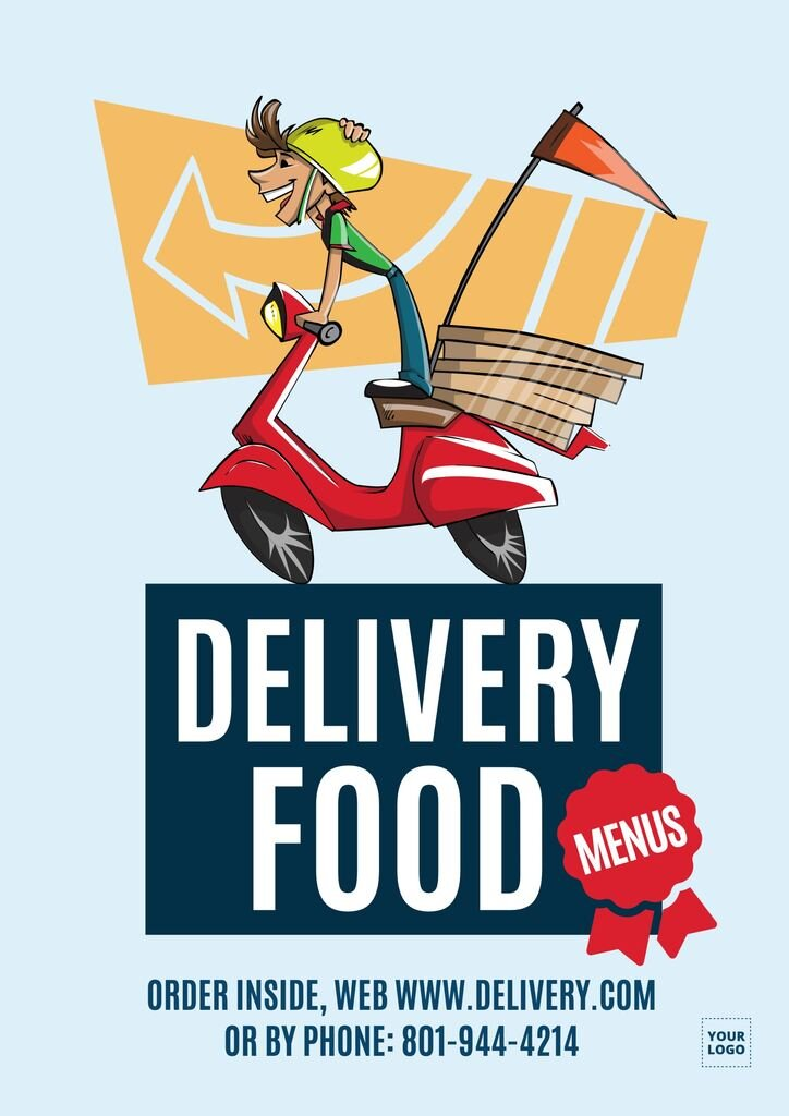 Food delivery template