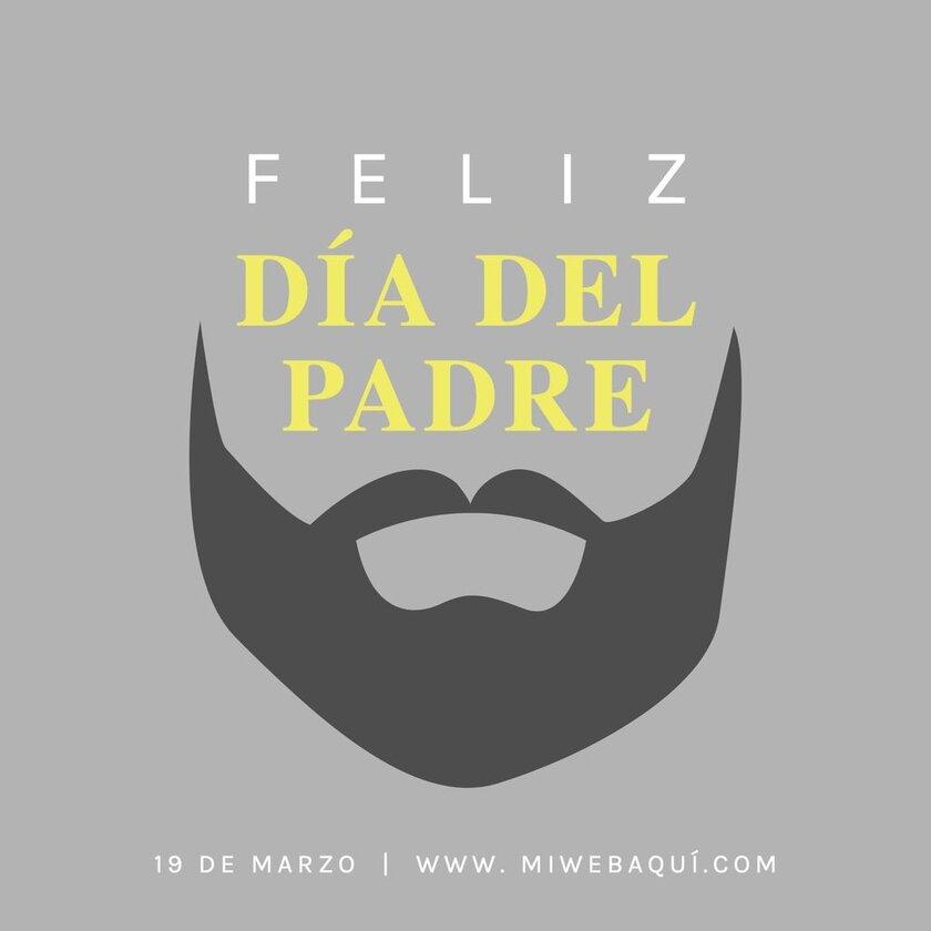 Dia del padre barba promo