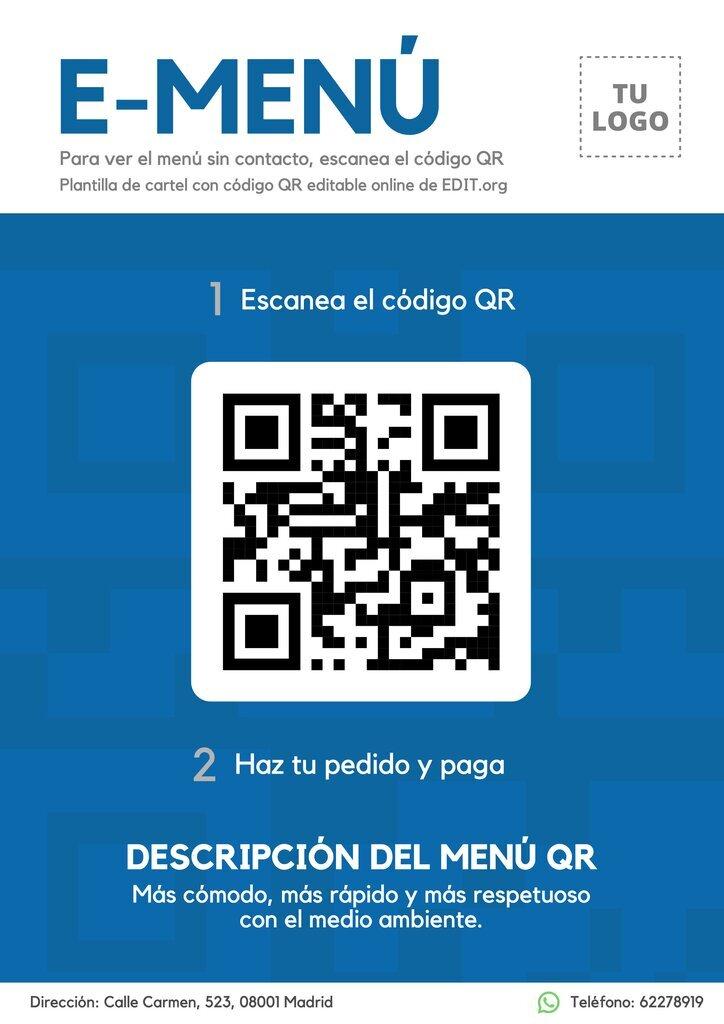 Diseño código QR para descargar online