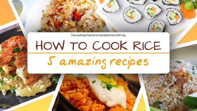 Free downloadable recipe template for Youtube