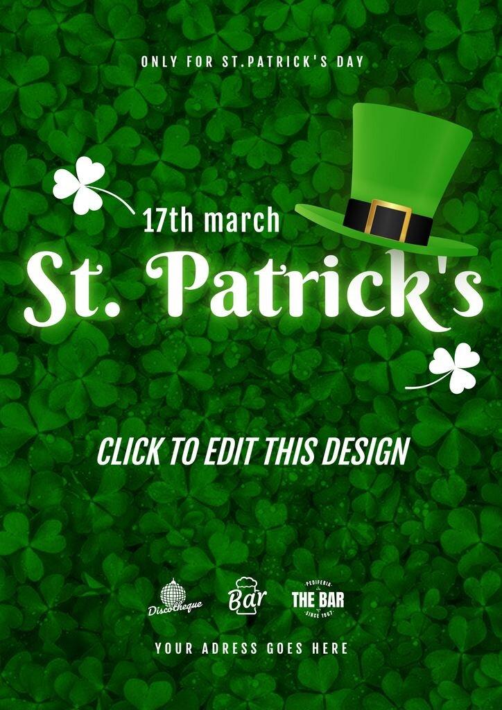 Saint Patrick's promote templates