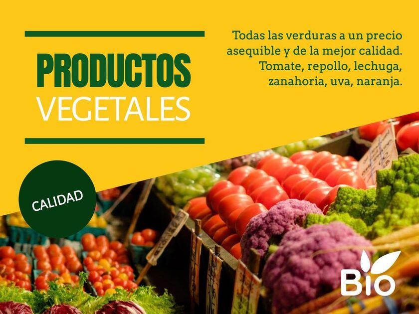 Plantilla diseño para fruterias y verdulerias