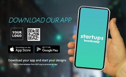 Free customizable app launch banner