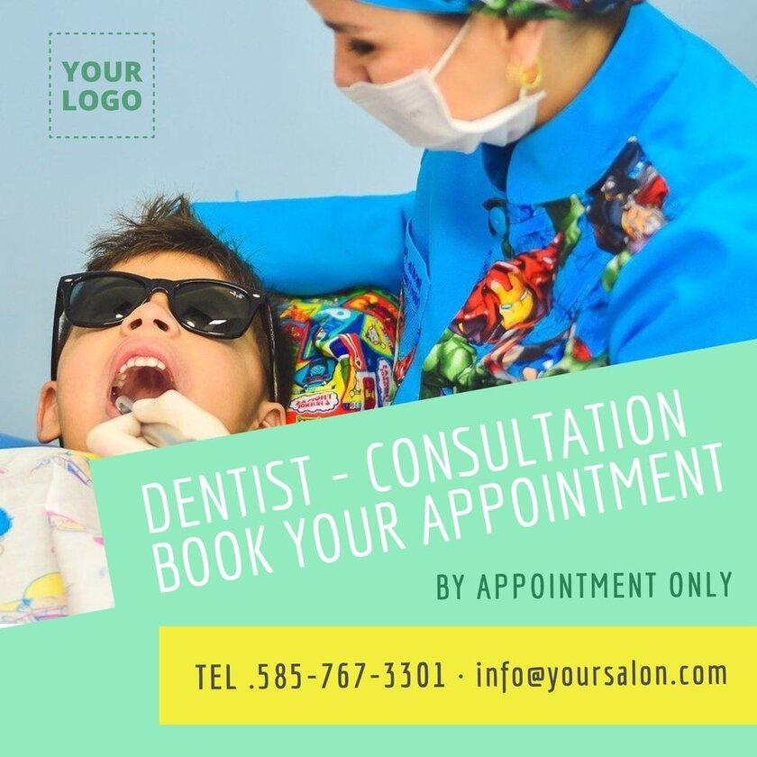 Dentist editable template health centers