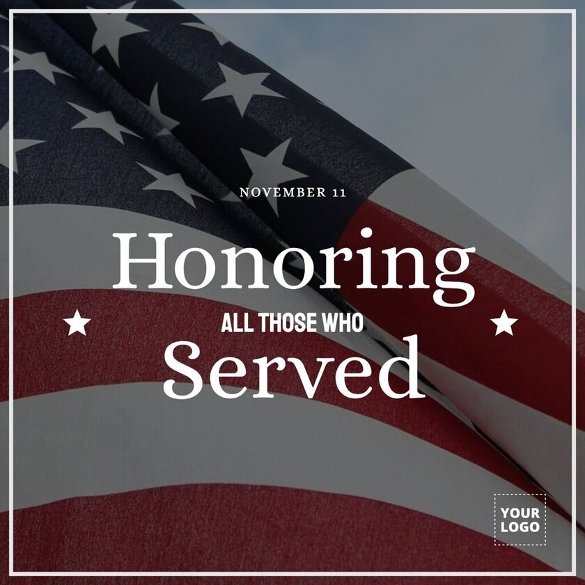 Veterans Day quotes templates to thank