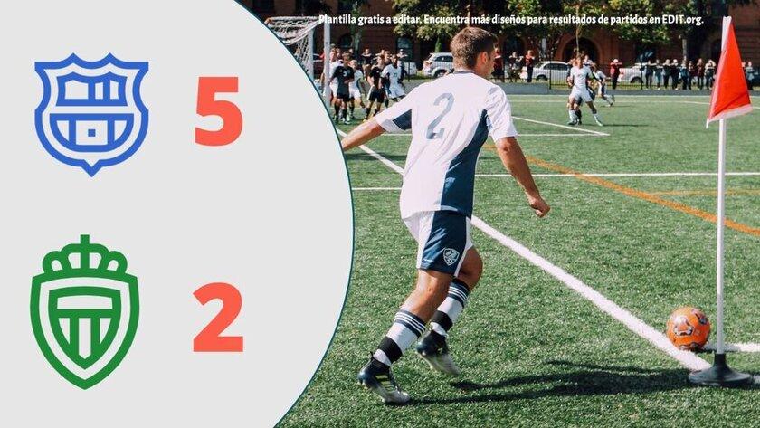Plantillas para resultados de futbol online